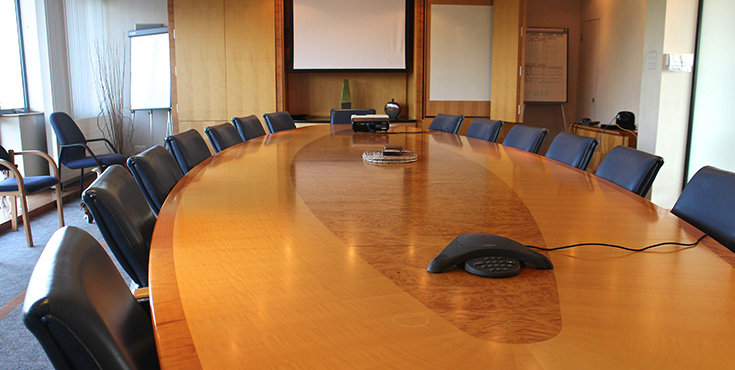 Board room for hire